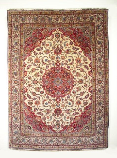 5004: Semi-antique Kashan carpet, town of Kashan, Centr