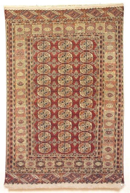 5006: Antique Tekke Bokhara rug,  Merv region, S.W. Tur