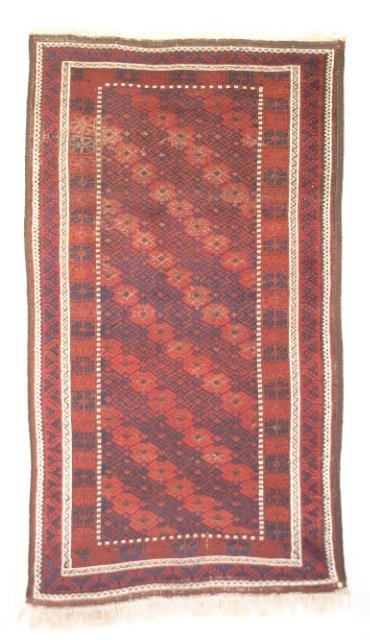 5007: Antique Baluch rug, Khorassan province, N.E. Pers