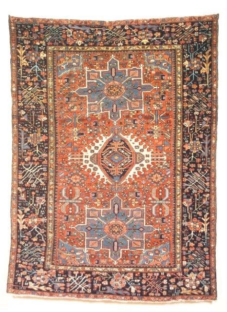 5008: Semi-antique Karadja rug, N.W. Persia (Iran), Ca