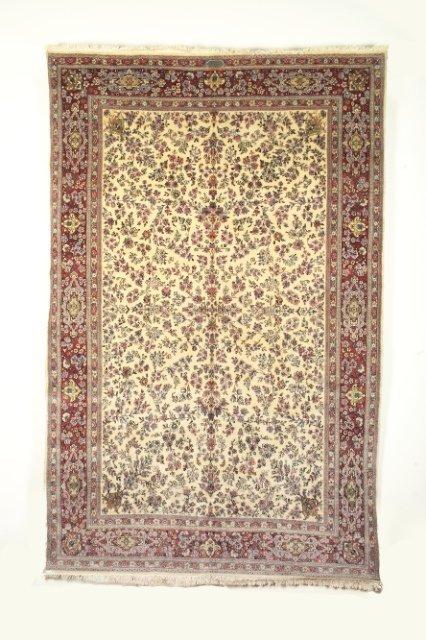 5009: Semi-antique Kerman carpet, town of Kerman, South