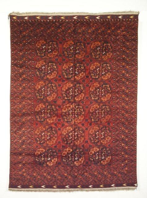 5010: Semi-antique Ersari Carpet, Amu Darya valley dist