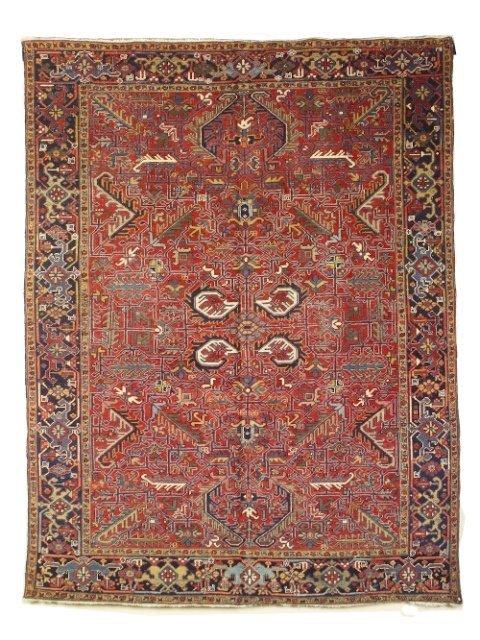 5012: Semi-antique Georavan carpet, Heriz area,  N.W. P