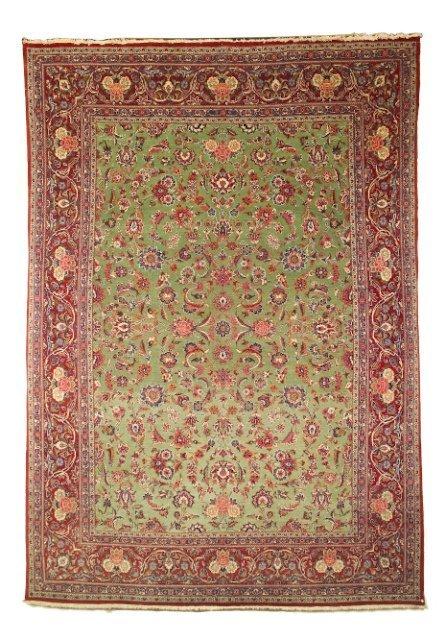 5015: Old Kashan carpet, town of Kashan, Central Persia