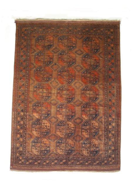 5019: Semi-antique Ersari carpet, Amu Darya valley regi