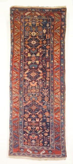 5021: Antique Heriz runner, Heriz area, N.W. Persia (Ir