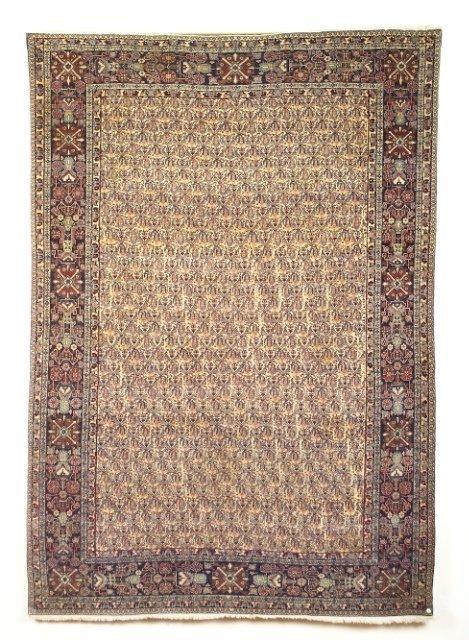 5024: Antique Kurk Kashan carpet, town of Kashan, Centr