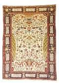 Fine Antique Malayer prayer rug, Hamadan province