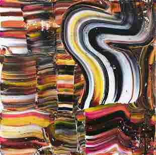 PAUL DORAN (b.1972) Untitled Acrylic on canvas, 102 x