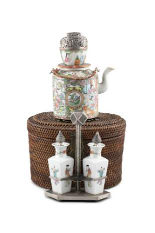A GROUP OF THREE (3) ASIAN PIECES China and Vietnam /