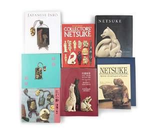 A DOCUMENTATION / GROUP OF NINE (9) BOOKS ON JAPANESE