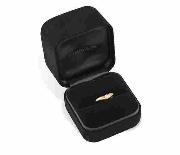 A DIAMOND SINGLE-STONE RING, BY PERETTI FOR TIFFANY &