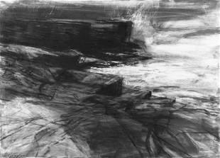 Donald Teskey RHA (b.1956) Untitled Drawing II Charcoal