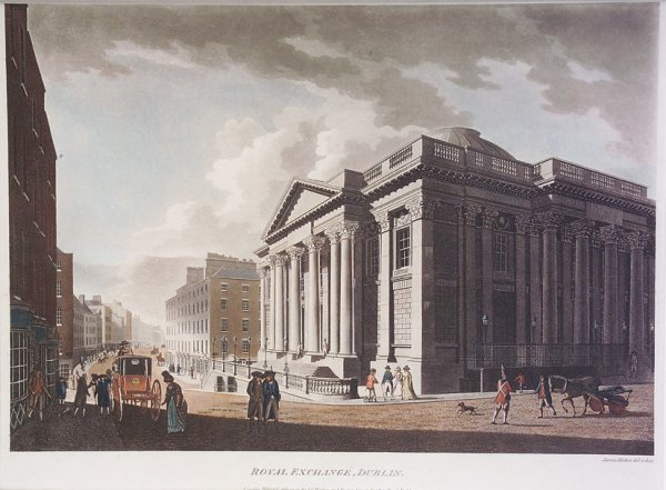 58: After James Malton (1761-1803)  The Royal Exchange""