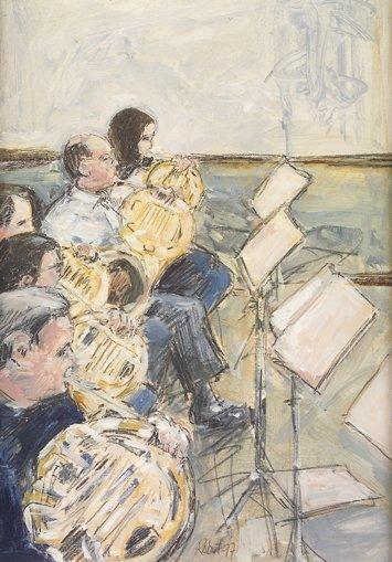 1004: Robert Bottom RUA (b. 1944) The Orchestra Mixed M