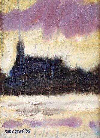 1013: Rod Coyne (20th Century) Roundwood Reservoir Oil