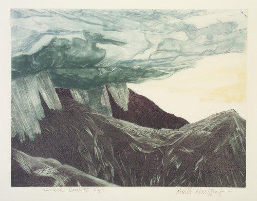 1022: Niall Naessens,(b.1961) Twelve Bens IV Etching, 4