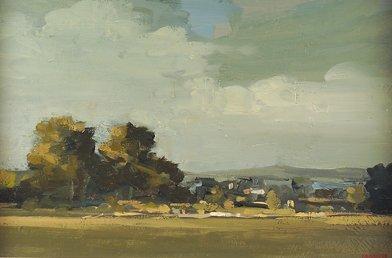 2003: Martin Mooney (b.1960) Landscape, Donegal Oil on