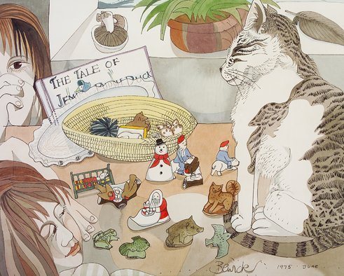2008: Pauline Bewick RHA (b. 1945) Tale of Jemima Puddl