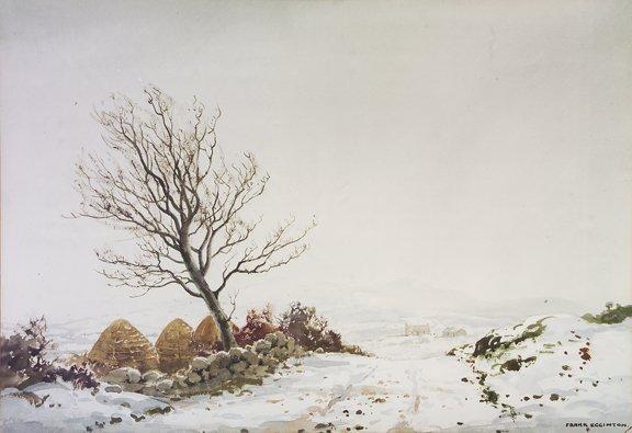 2010: Frank Eggington RCA FIAL (1908-1990) Snow, Co. Do