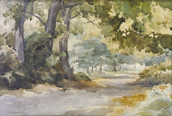 2014: Frank Egginton RCA FIAL (1908-1990) Wooded Pathwa