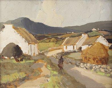 2015: James Humbert Craig RHA RUA (1877-1944) Cottages