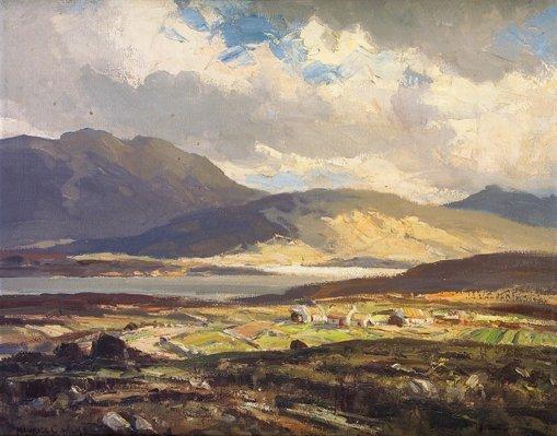 2017: Maurice C. Wilks RUA ARHA (1910-1984) Loch Anure,