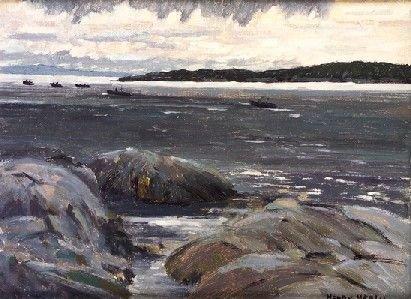 2021: Henry Healy RHA (1909-1982) Fishing Boats in the