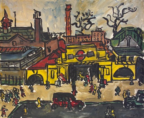 2030: Kenneth Hall, (1913-1946) Charing Cross Tube Stat