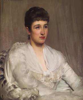 "2037: St George Hare, RI ROI, (1857-1933) ""Edwardian Be"