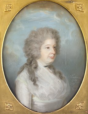 2085: George Lawrence, (1758-1802) Half length portrait