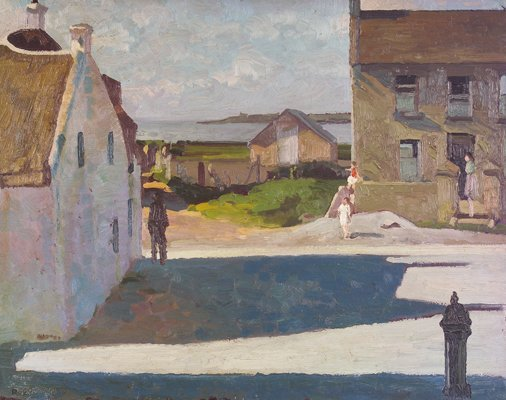 4: Patrick Leonard, HRHA, (1918-2005) The Bawn Rush, 19