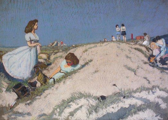 5: Patrick Leonard, HRHA, (1918-2005) Dollymount Strand