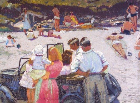 6: Patrick Leonard, HRHA, (1918-2005) Afternoon on the