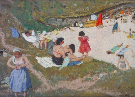 8: Patrick Leonard, HRHA, (1918-2005) The Lady's House,