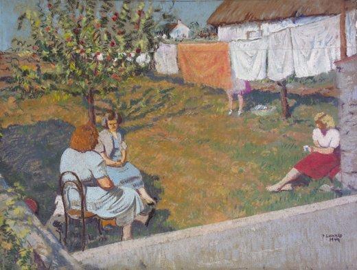 9: Patrick Leonard, HRHA, (1918-2005) The Afternoon Cha