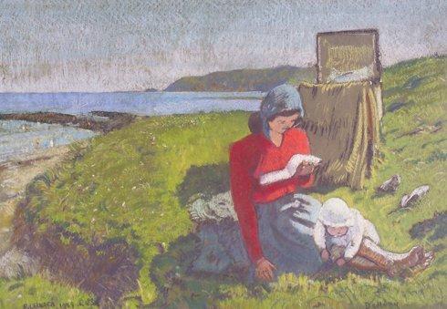 13: Patrick Leonard, HRHA, (1918-2005) The Afternoon Re