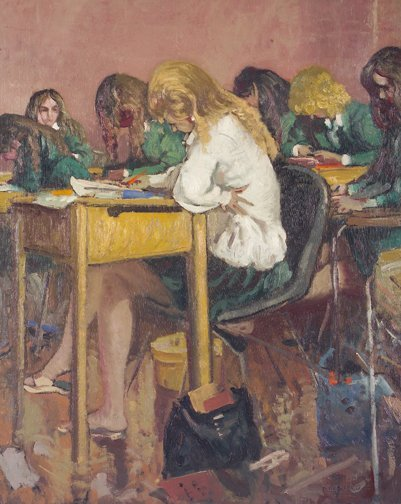 16: Patrick Leonard, HRHA, (1918-2005) Exams April '73