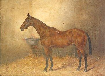1001: H.F. Lucas Lucas Orby Oil on canvas, 26 x 34.5cm