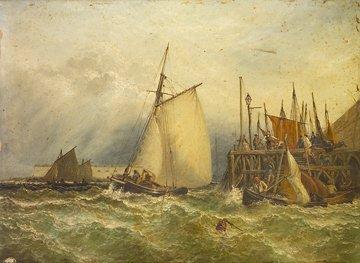 1004: Henry Thomas Dawson Junior The Entrance to Portsm