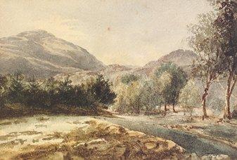 1017: William Nicholl (1794-1840) Pass of Lennie Benled