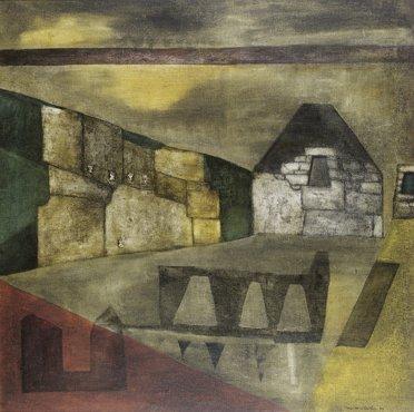 2007: Padraig MacMiadhachain, RWA, (b.1929)  Stone Memo