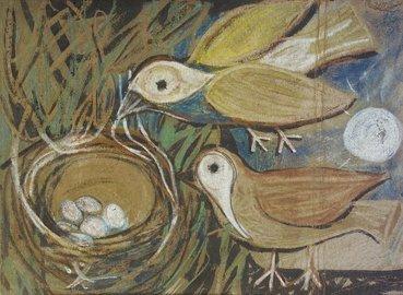 2013: Gerard Dillon RHA RUA (1916-1971) Birds Nest Past