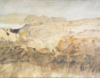2015: Basil Blackshaw RUA RHA (b.1932) Rosbeg Landscape