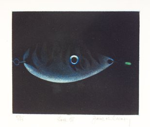 3012: James McGreavy (20th Century) Lune III Lithograph