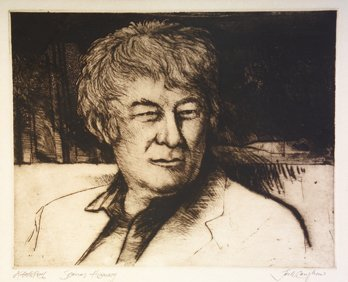 3014: Jack Caughan (20th Century) Seamus Heaney Engravi