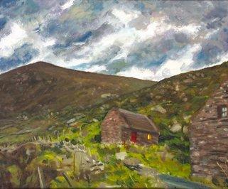 3020: Michael O'Dea RHA (b.1958) Cill Rialaig, Co. Kerr