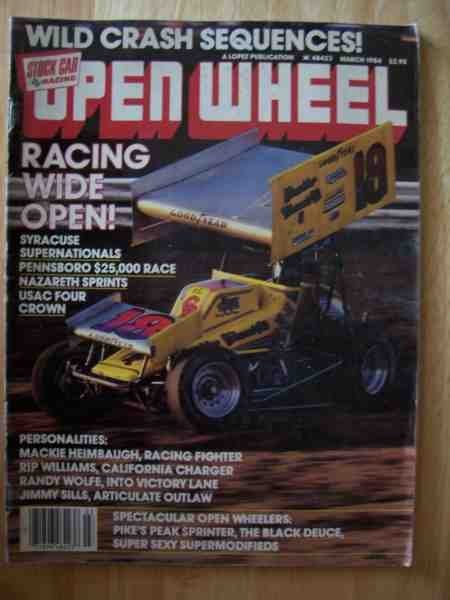 1001: Open Wheel Magazine March 1984