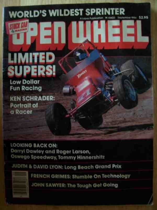 1002: Open Wheel Magazine Sept 1984