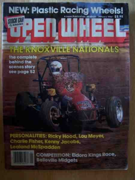 1003: Open Wheel Magazine Jan 1986